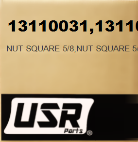 13110031 NUT SQUARE 5/8 FOR CATERPILLAR