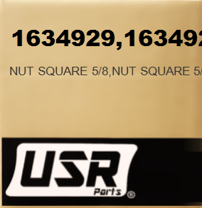 1634929 NUT SQUARE 5/8 FOR CATERPILLAR