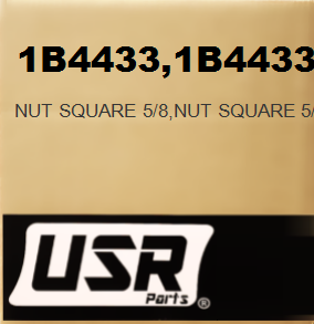 1B4433 NUT SQUARE 5/8 FOR CATERPILLAR