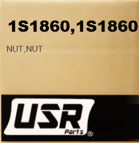 1S1860 NUT FOR CATERPILLAR