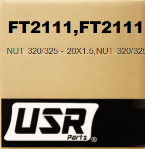 FT2111 NUT 320/325 - 20X1.5 FOR CATERPILLAR