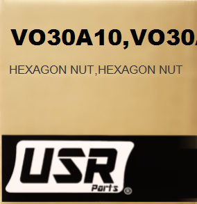 VO30A10 HEXAGON NUT FOR VOLVO